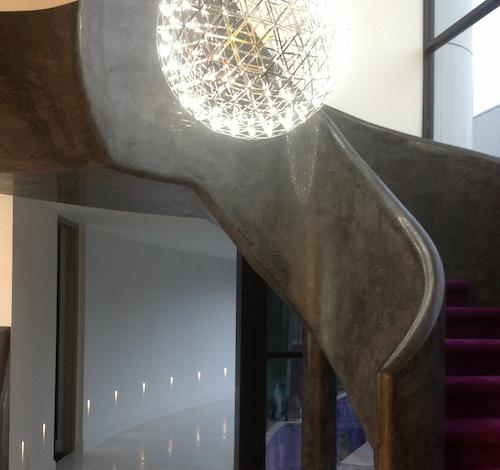 mirror stairway